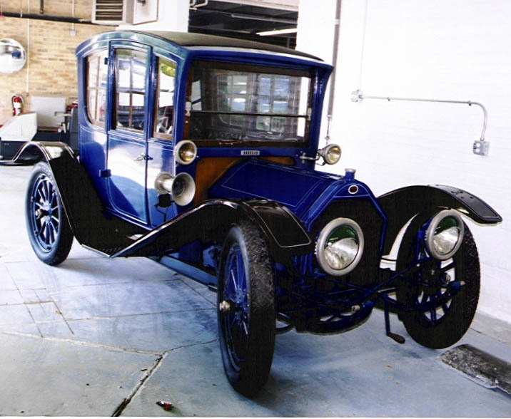 1913 Regal Underslung coupe formerly owned by Jane Withers.