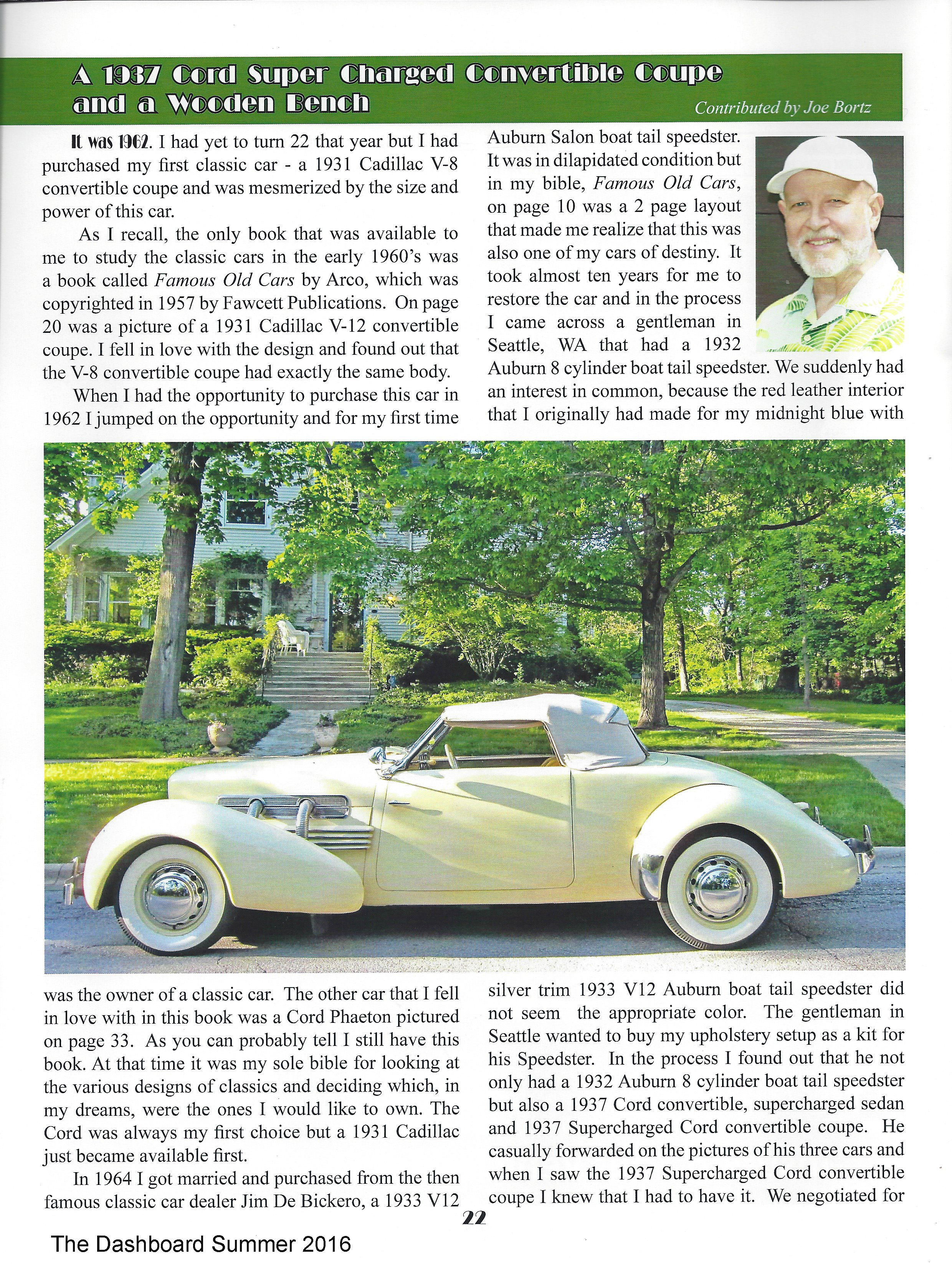 1937 cord article