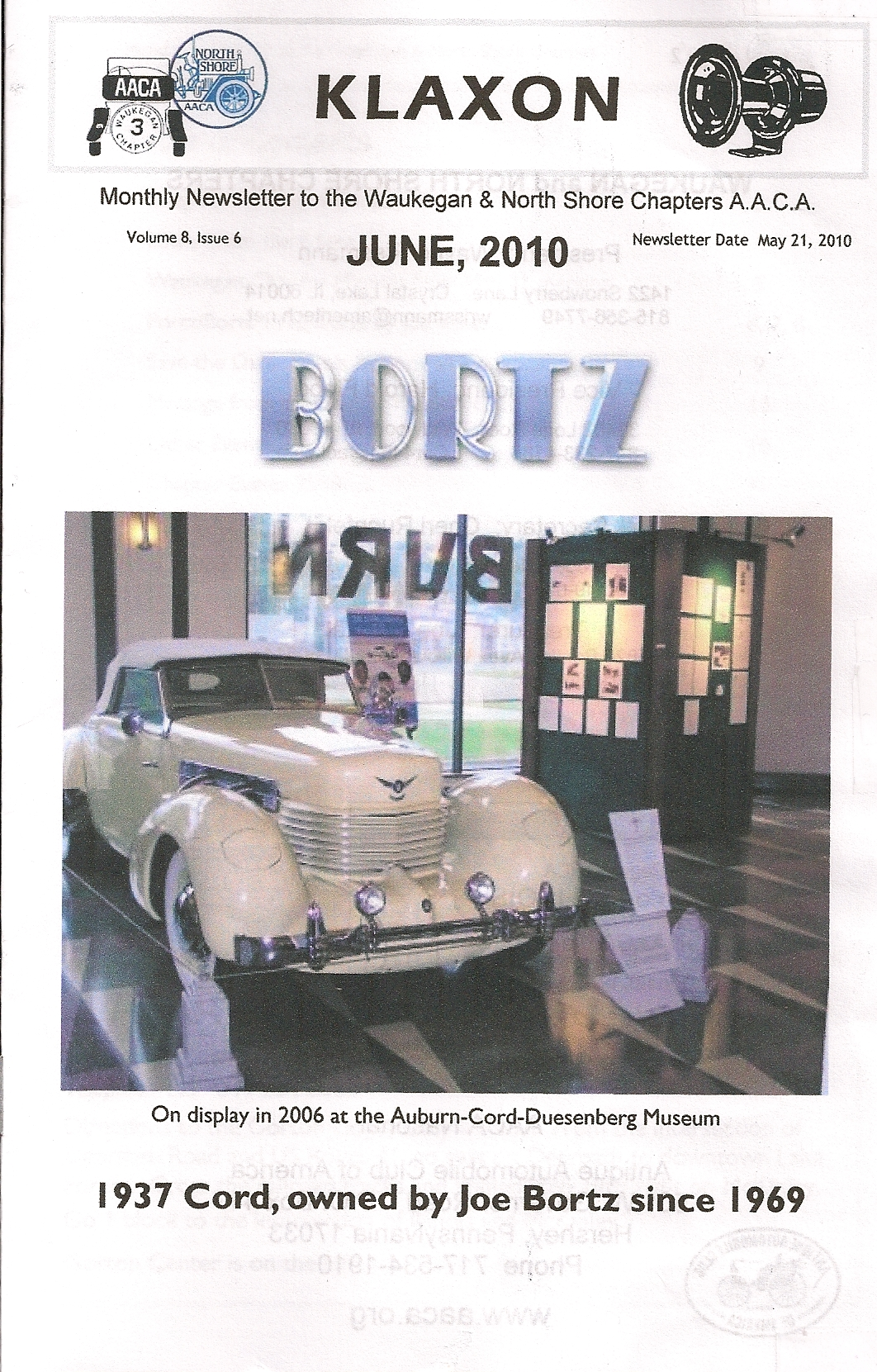 1937 Cord by Joe Bortz