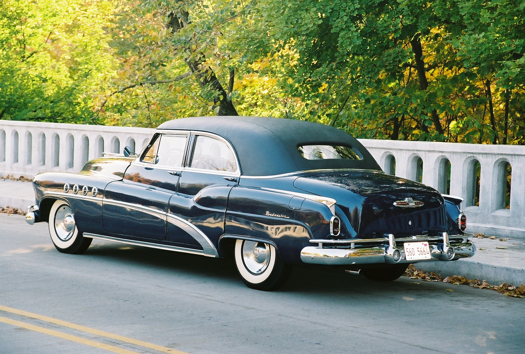 1954 Buick Harlow Curtice Limo