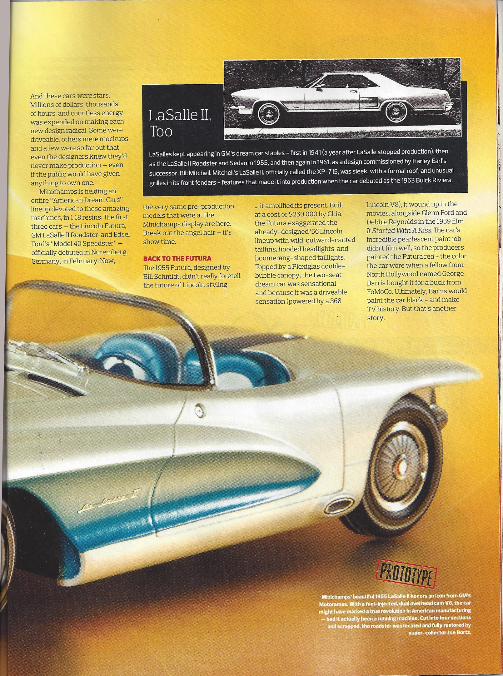 1955 Lasalle Roadster