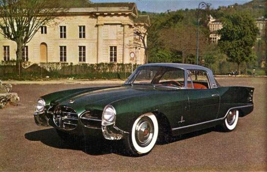 1956 Nash Palm Beach concept car (Factory Photo).