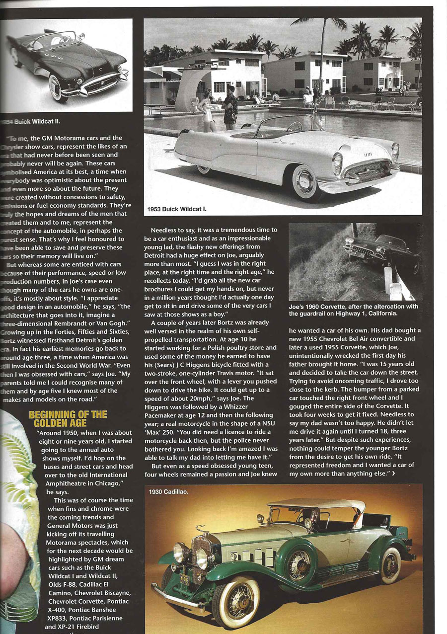 Dream Weaver by Huw Evans, Classic-American October 2011 p2
