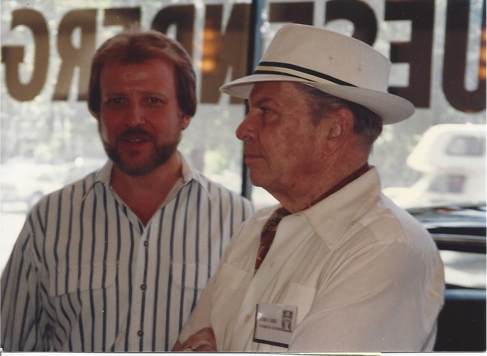 Henry Lauve & Joe Bortz at the ACD Show Sept 1991