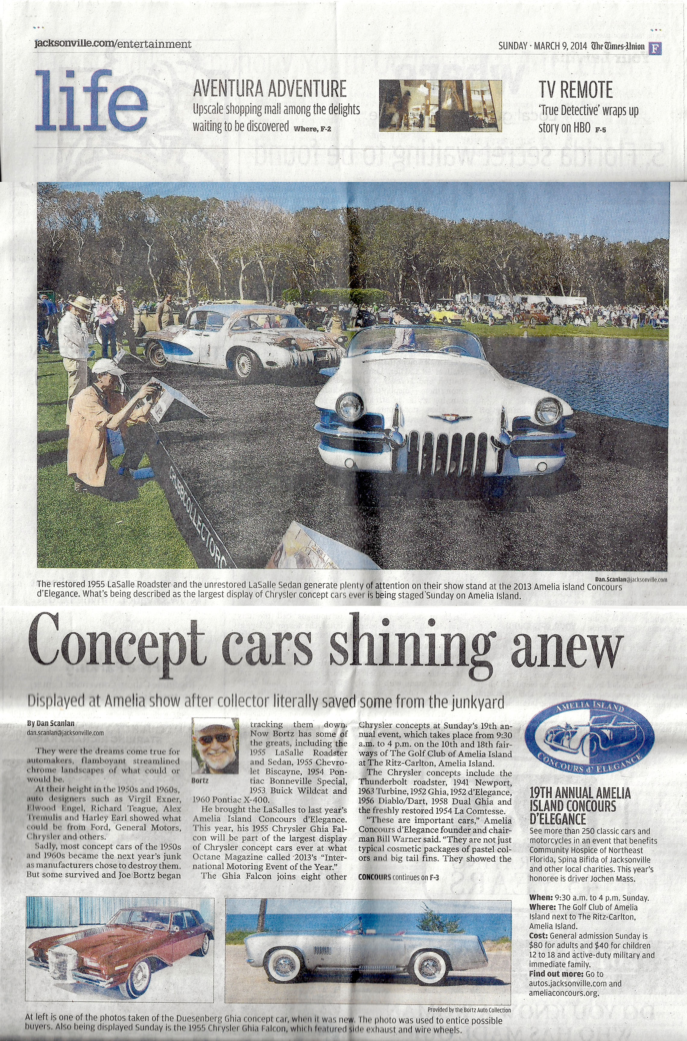 Concept Cars Shining Anew by Dan Scanlan, Jacksonville News