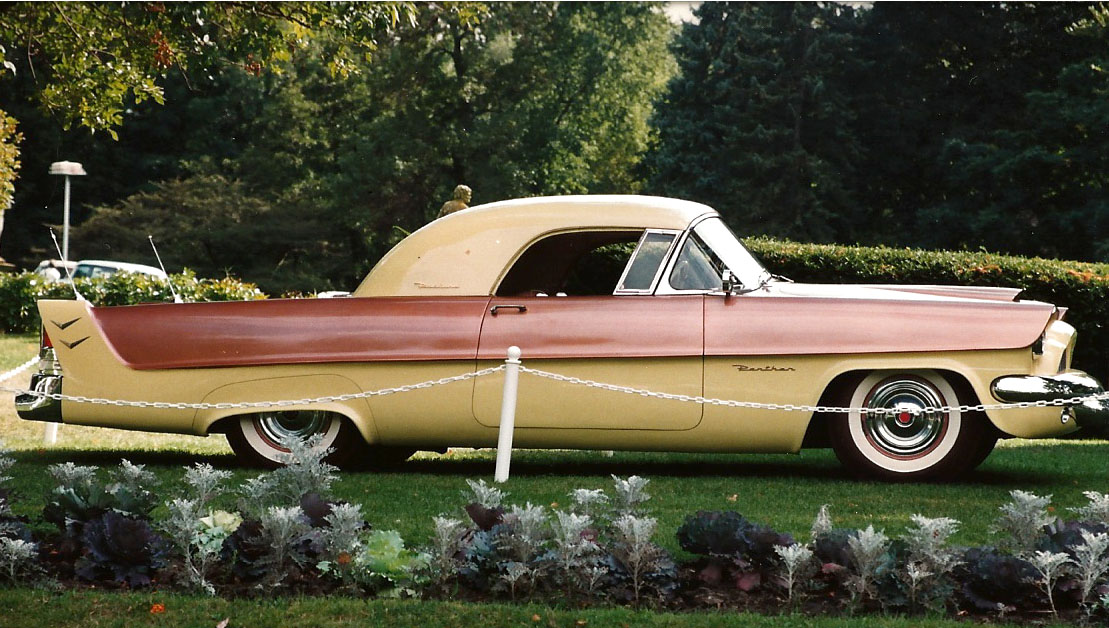 1954 Packard Panther - the only one with a removable hardtop in Yellow & Bronze