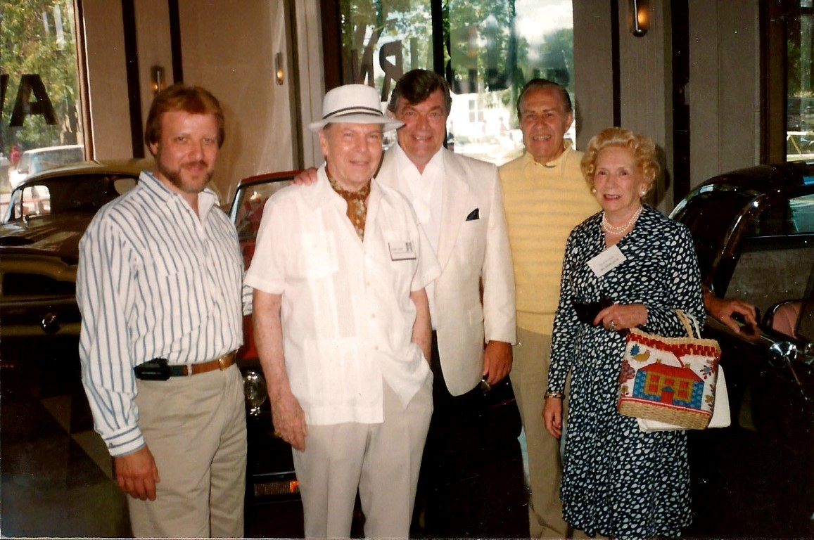 Joe Bortz, Henry Lauve, Dave Holls , Paul Gillian, Mrs. Lauve