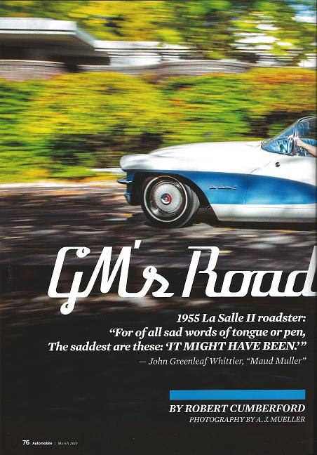 GM's Road Not Taken by Robert Cumberford