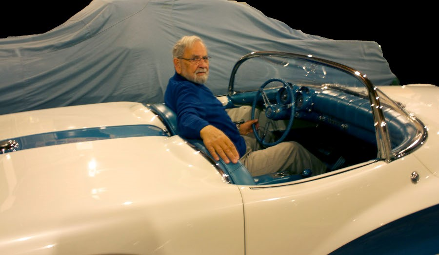 Robert Cumberford in the 1955 LaSalle Roadster